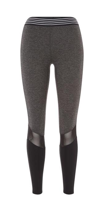 Legging de sport gris meshiz grey.