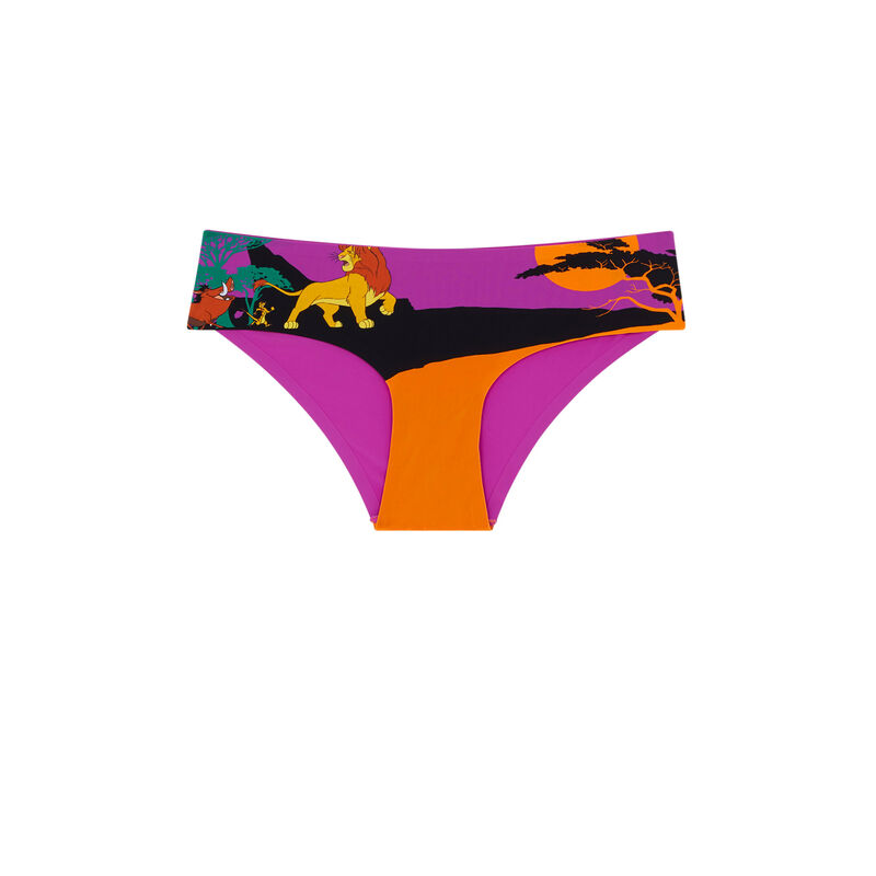 Shorty en micro Le Roi Lion - fuchsia;