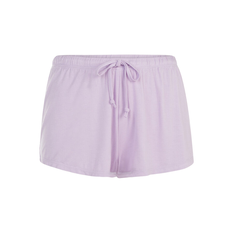 Фиолетовые шорты noprinciz;