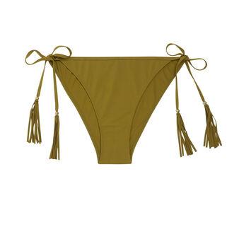 Doussiz khaki bikini bottom green.