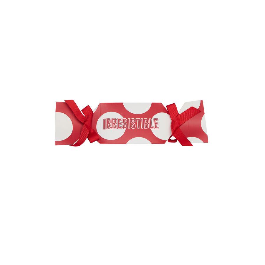 Красные трусики-слипы irresistibliz;