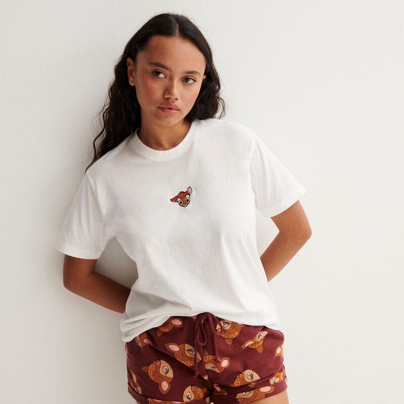 Bambi t-shirt - white;