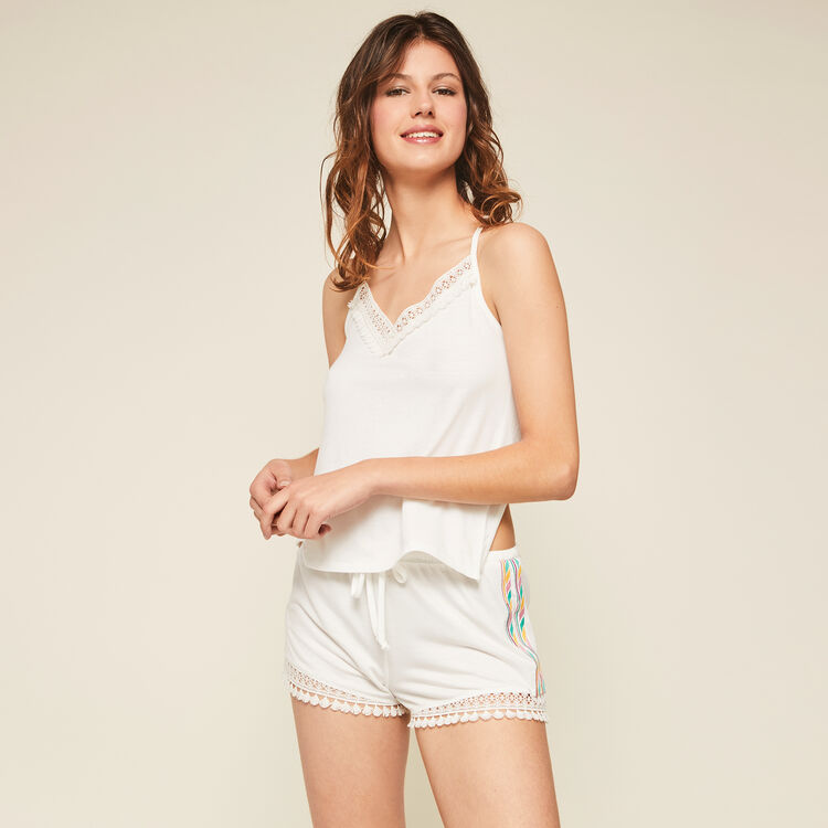 Futurbestiz white shorts ;