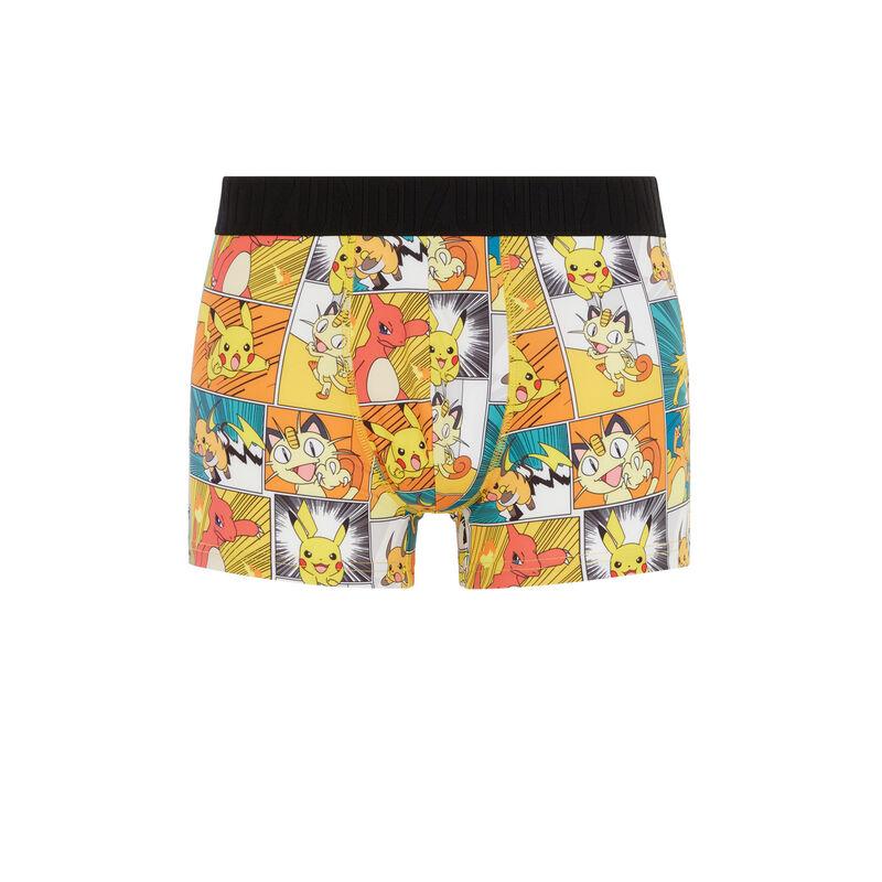 Pokemon print boxers - white;