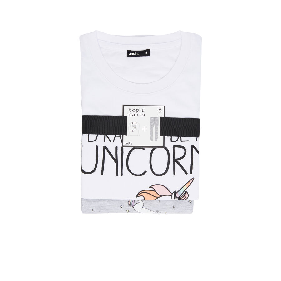 Белый пижамный комплект intergangcorniz;