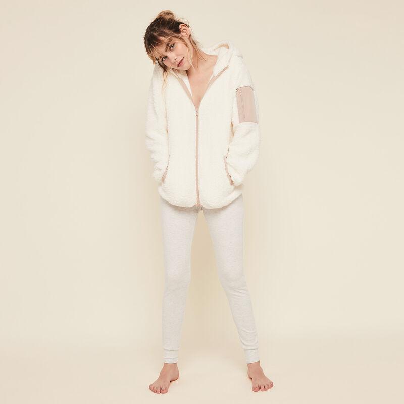 Borgiz hooded fleece jacket;