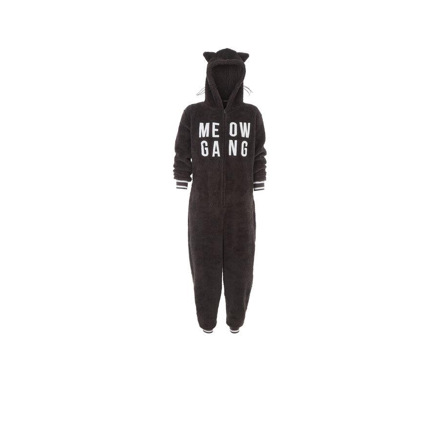 Miaougangiz black jumpsuit;