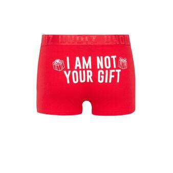 Rote boxershorts engpascadiz red.