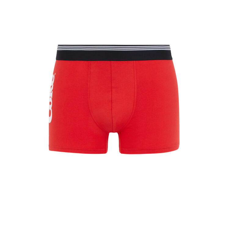 Cokikie red boxers;