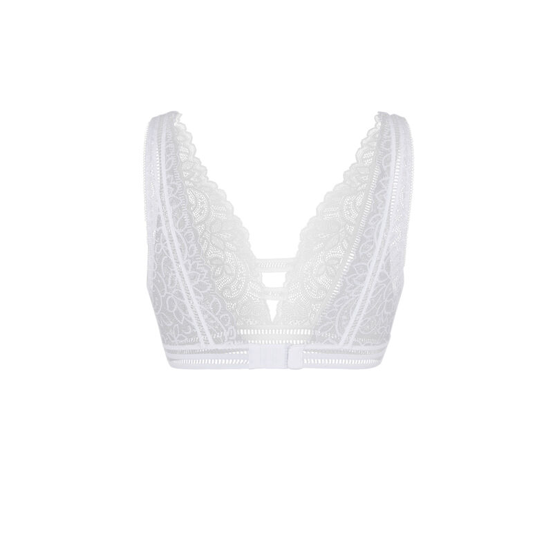 Sayiz white bra;
