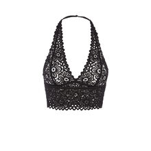 Evoliz black triangle bra  black.
