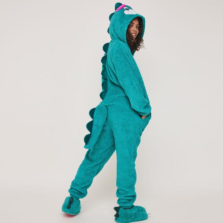 Denveriz Denver print fleece jumpsuit;