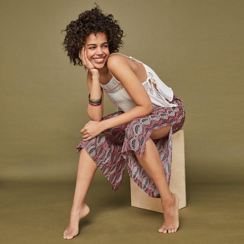 Розовые брюки afropunkiz;