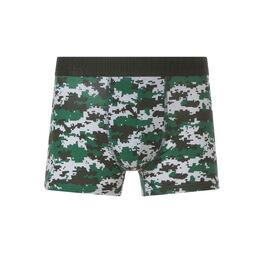 Caramiliz green boxer shorts green.
