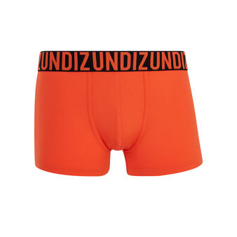 Oreliz orange boxer shorts orange.