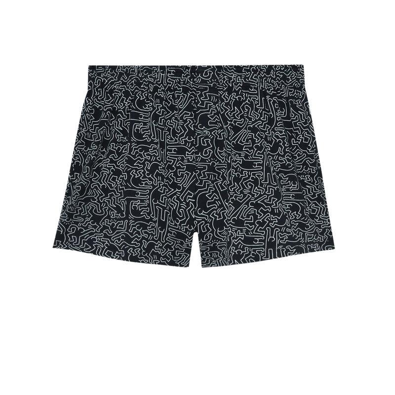 bokserki Keith Haring — kolor czarny;