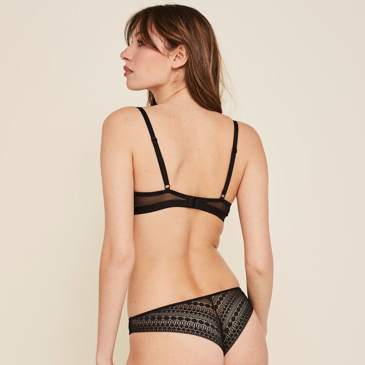 Cupiniz black padded bra;