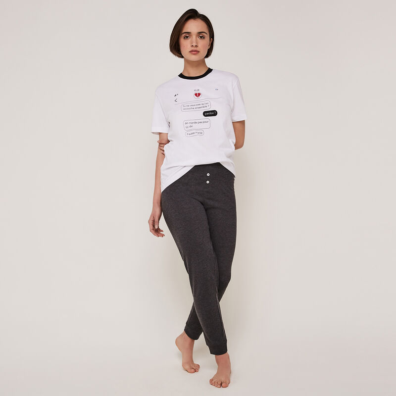 Oupsybabiz jersey trousers with belt;