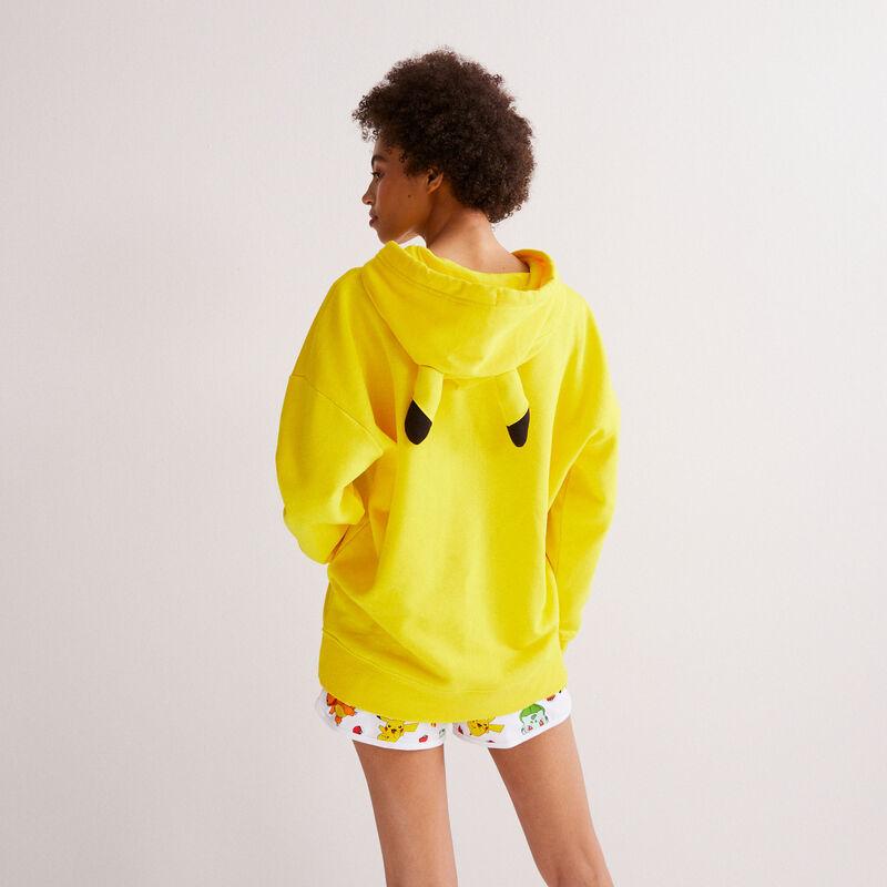 Pikachu sweatshirt - yellow;