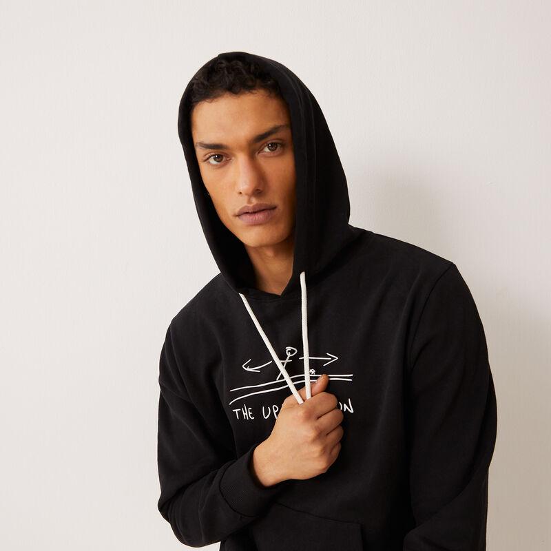Stranger Things hoodie - black;