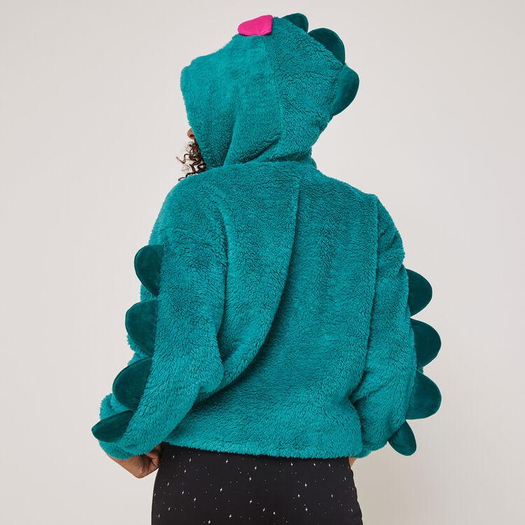 Denveriz Denver fleece sweatshirt with embroidery detail;