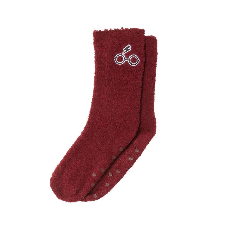 Harry Potter themed slippers - burgundy;