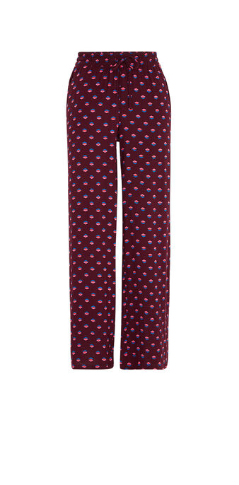 Burgundy kariniz pants red.