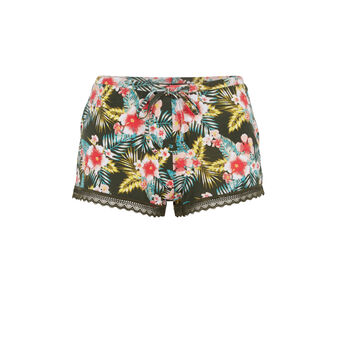 Tropicaliz khaki shorts green.