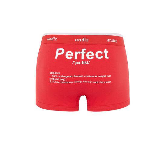 Engdeparfaitiz red boxer brief;
