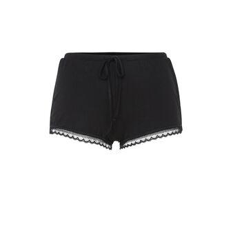 Sidevitamiz black shorts black.