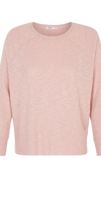 Розовый пуловер paniliz pink.