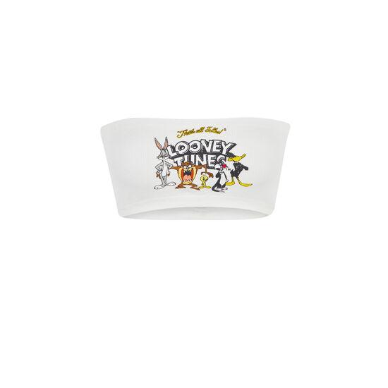 Canvassiz white bandeau;