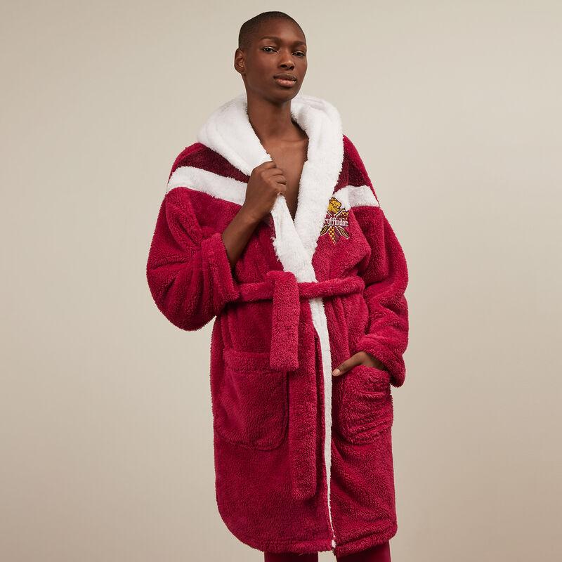 Gryffindor fleece robe - burgundy;