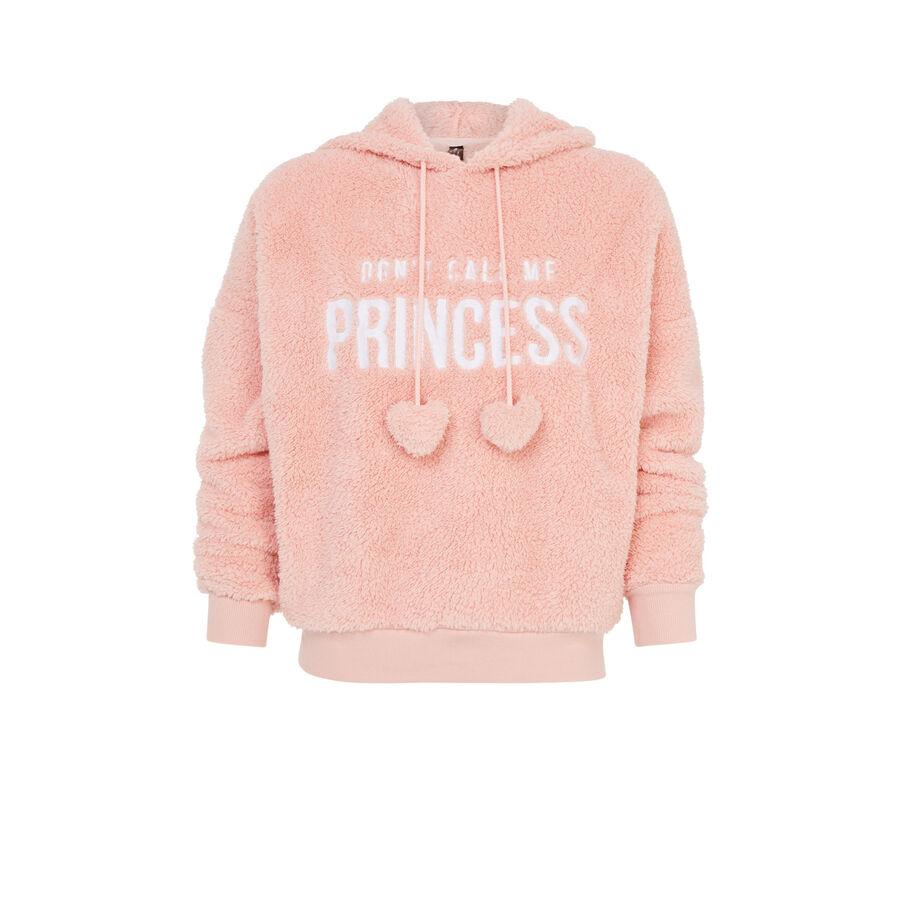 Pink nanabelliz sweatshirt;