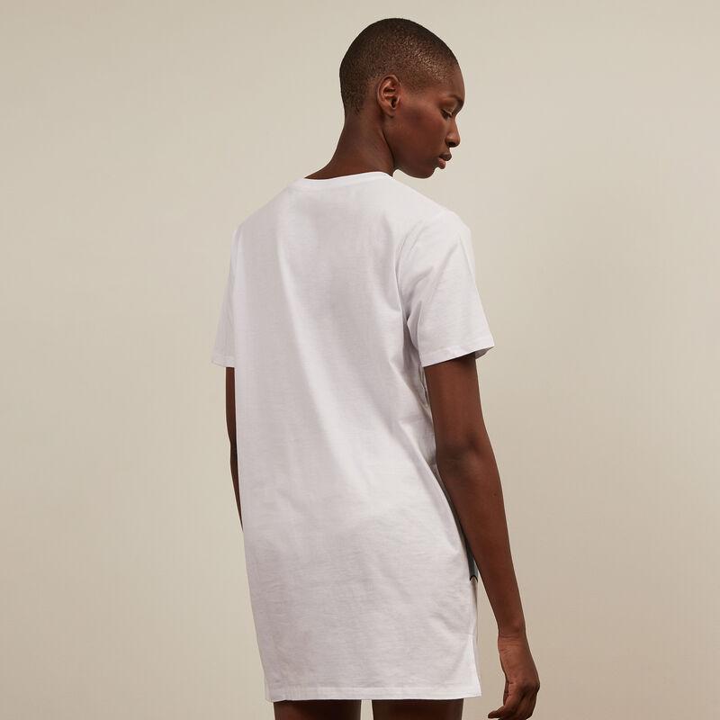 Stitch tunic - white ;