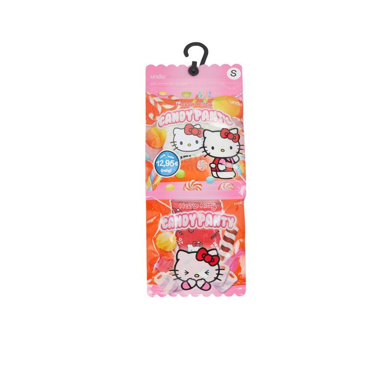 Set of two hellokittiz Hello Kitty print cotton panties;
