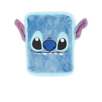 Stitchiz blue hot water bottle blue.