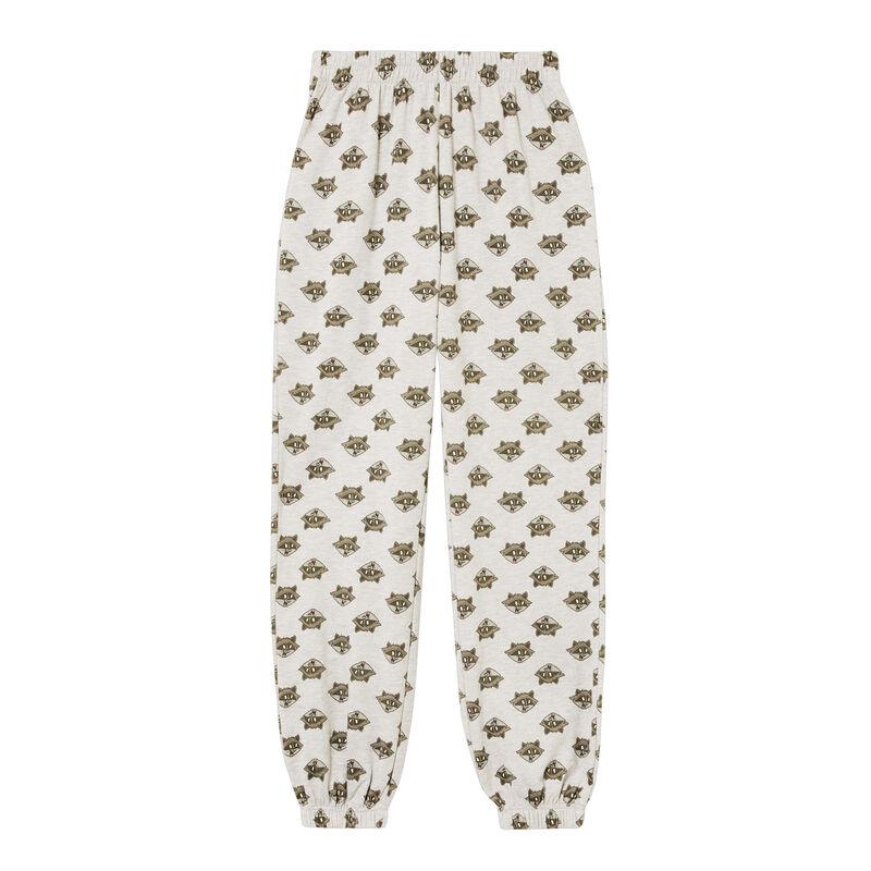 polarowe spodnie z Meeko — kolor szary;
