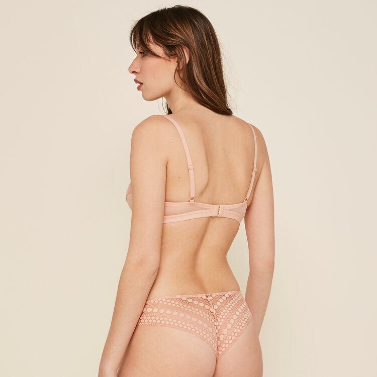 Cupiniz pink padded bra;