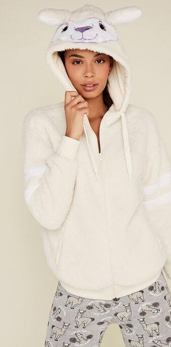 Бежевато-белая куртка lamaviz white.