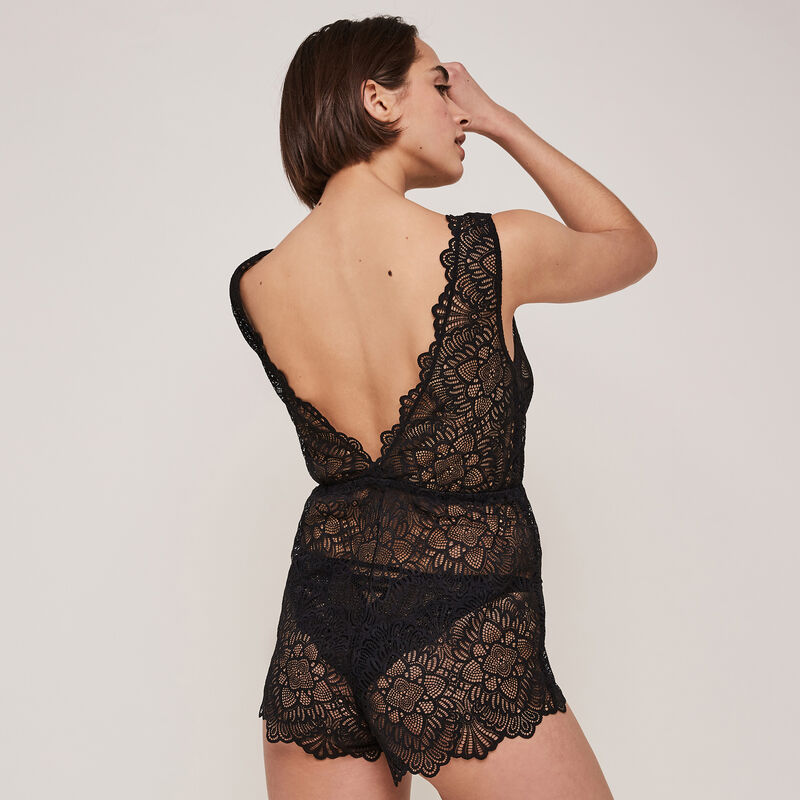 Arianaiz lace playsuit;