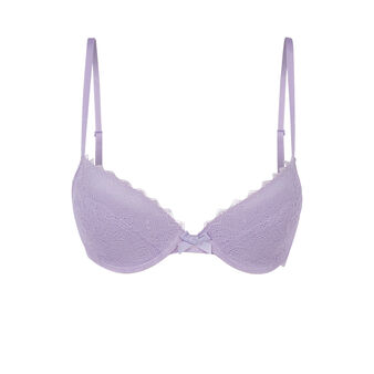 Светло-лиловый бюстгальтер basiciz purple.