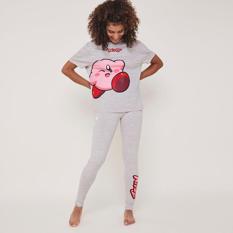 Kirbiz Kirby short-sleeved printed top;