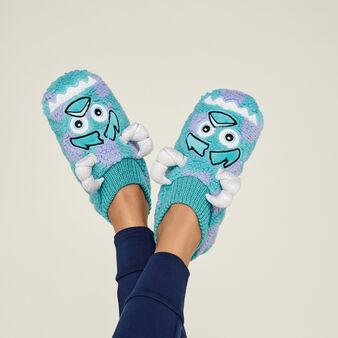 Синие тапочки sullyiz blue.