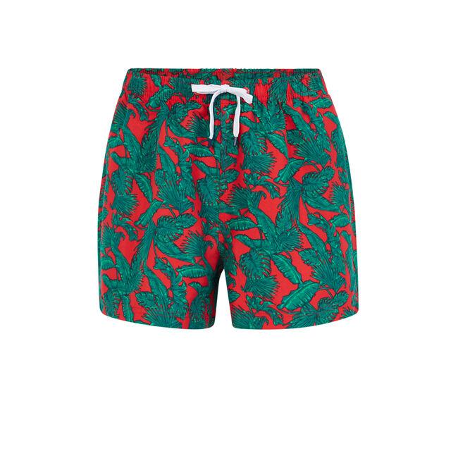 Bofeuilliz red swim shorts;