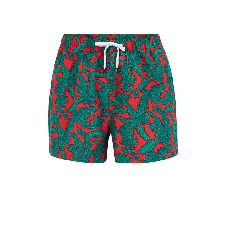 Красные купальные шорты bofeuilliz;