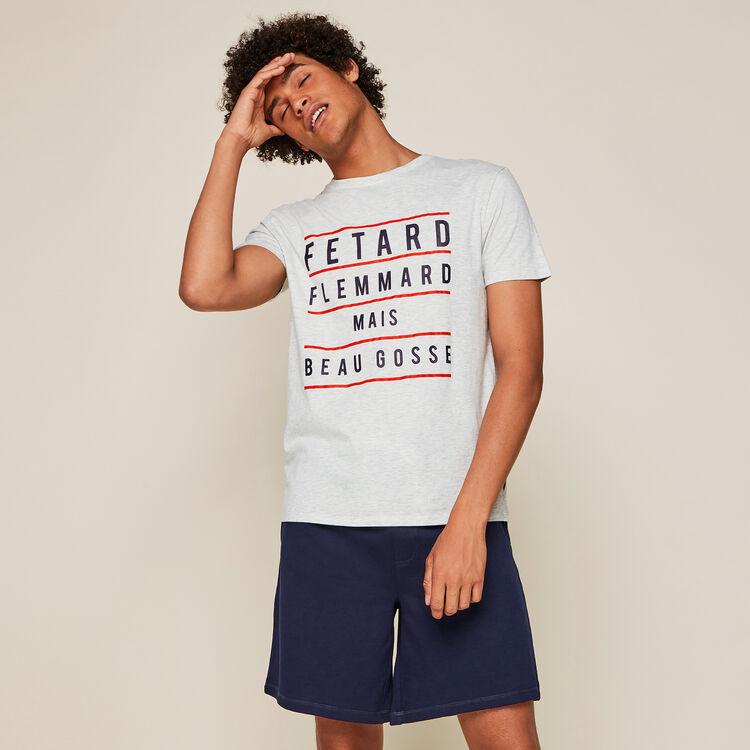 Fletardiz slogan pyjama set;