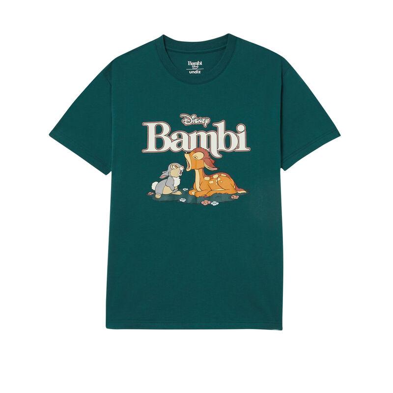 bambi print t-shirt - pine;