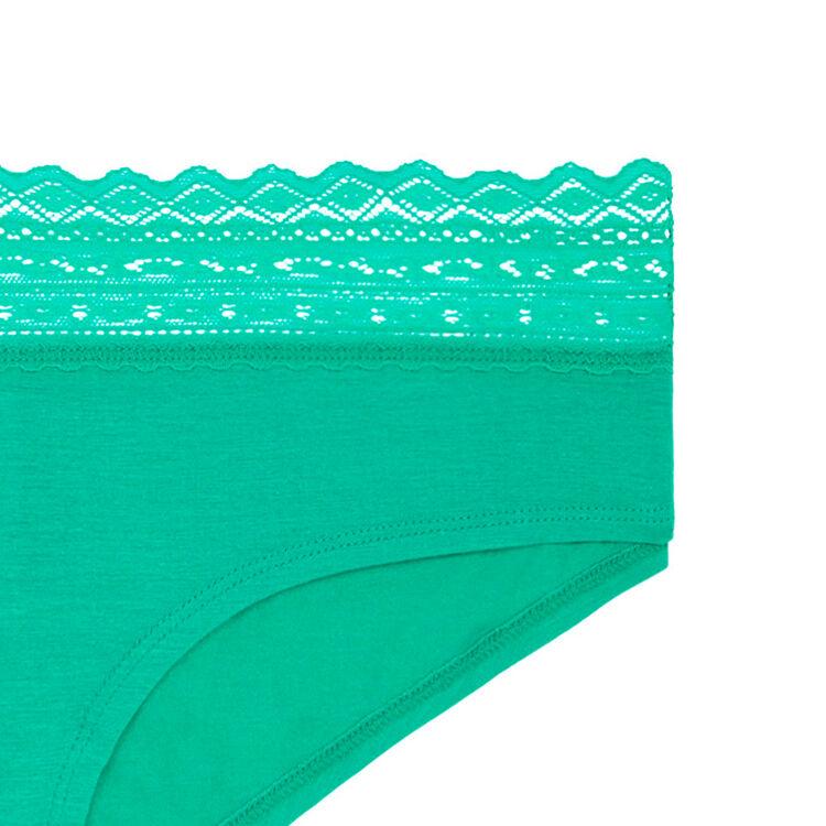 WAISTIZ emerald-green SHORTY;