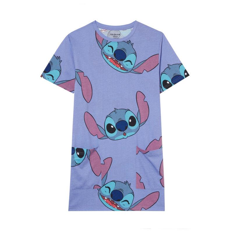 Stitch patterned tunic - blue;